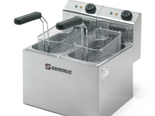 Fritadeira Sammic Mod. F-3+3