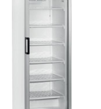 Blackinox Armário Refrigerado Congelação Porta de Vidro Mod. CoolHead UFFS 370 G