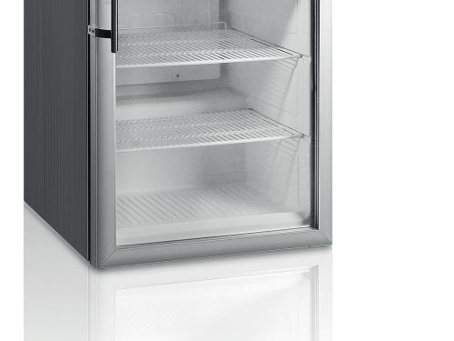 Blackinox Armário Refrigerado Conservação Porta de Vidro Mod. CoolHead RCGX 200 (Inox)
