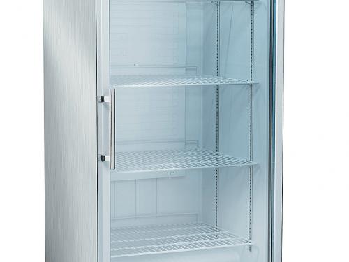 Blackinox Armário Refrigerado Conservação Porta de Vidro Mod. CoolHead RCGX 600 (Inox)