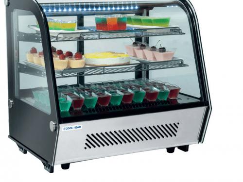 Blackinox Expositor Refrigerado Sobremesas Mod. CoolHead RC 120