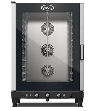 Blackinox Forno Convetor Elétrico Padaria 10 Níveis Mod. Unox XB893 (Controlo Manual)