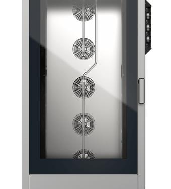 Blackinox Forno Convetor Elétrico Padaria 16 Níveis Mod. Unox XB1083 (Controlo Manual)