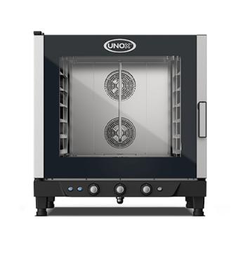 Blackinox Forno Convetor Elétrico Padaria 6 Níveis Mod. Unox XB693 (Controlo Manual)