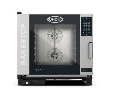 Blackinox Forno Convetor Elétrico Padaria 6 Níveis Mod. Unox XEBC-06EU-EPR Plus Elétrico