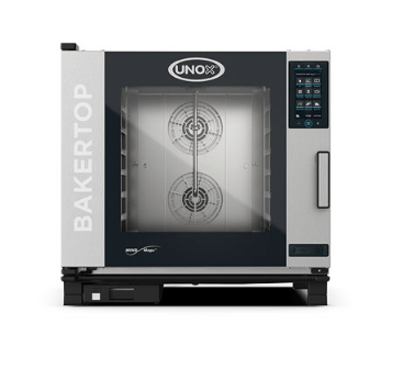 Blackinox Forno Convetor Gás Padaria 6 Níveis Mod. Unox XEBC-06EU-GPR Plus Gás
