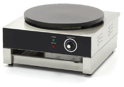 Blackinox Máquina de Crepes Mod. Actimac CP1