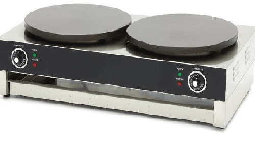 Blackinox Máquina de Crepes Mod. Actimac CP2