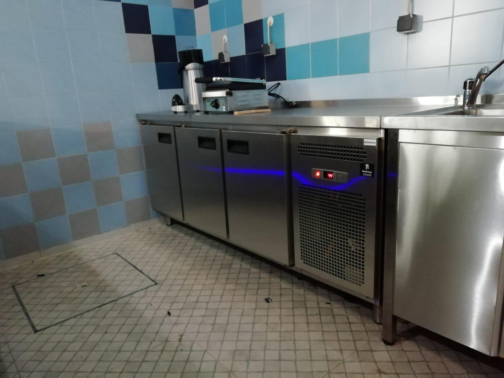 Bancada Refrigerada Aço Inox